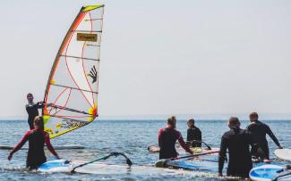 zajęcia z windsurfingu