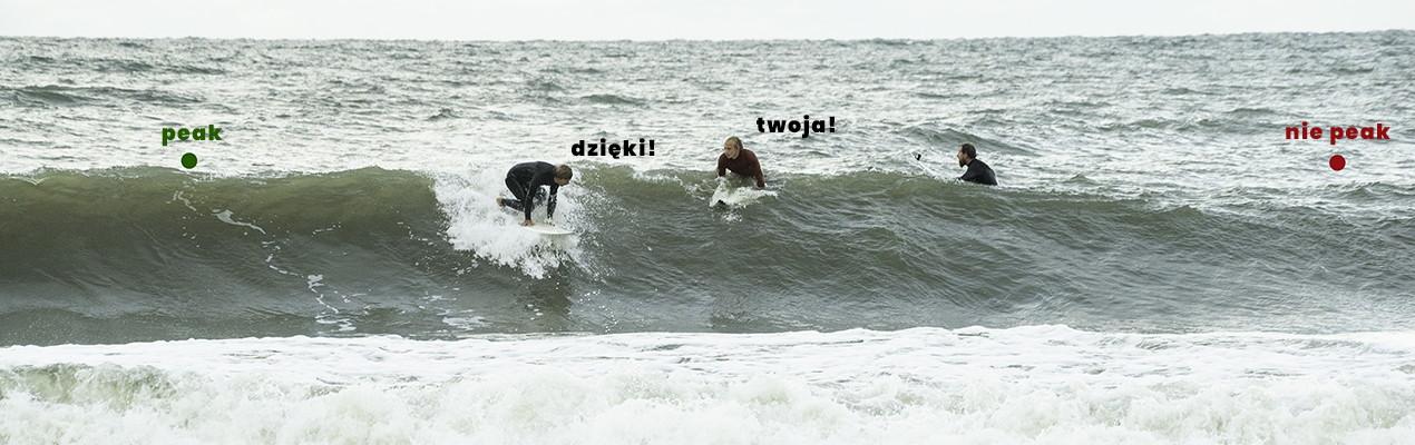 Prawo drogi surfing - podstawy